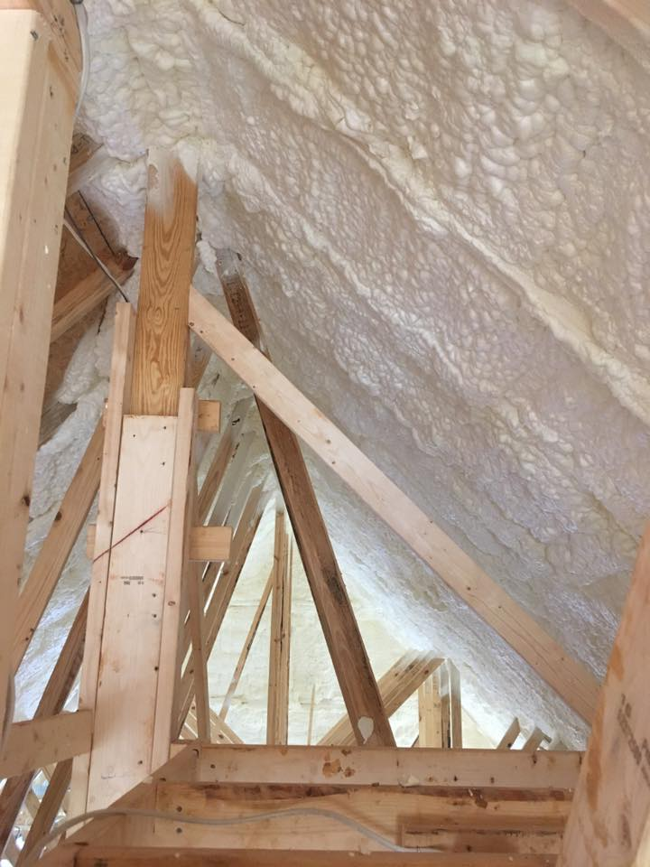 Attic Spray Foam Insulation Green Bay WI