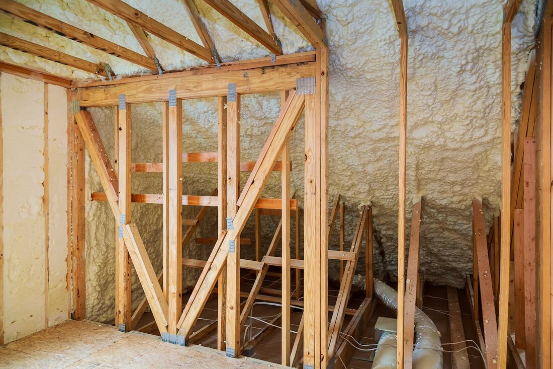 Attic Spray Foam Insulation Kenosha WI