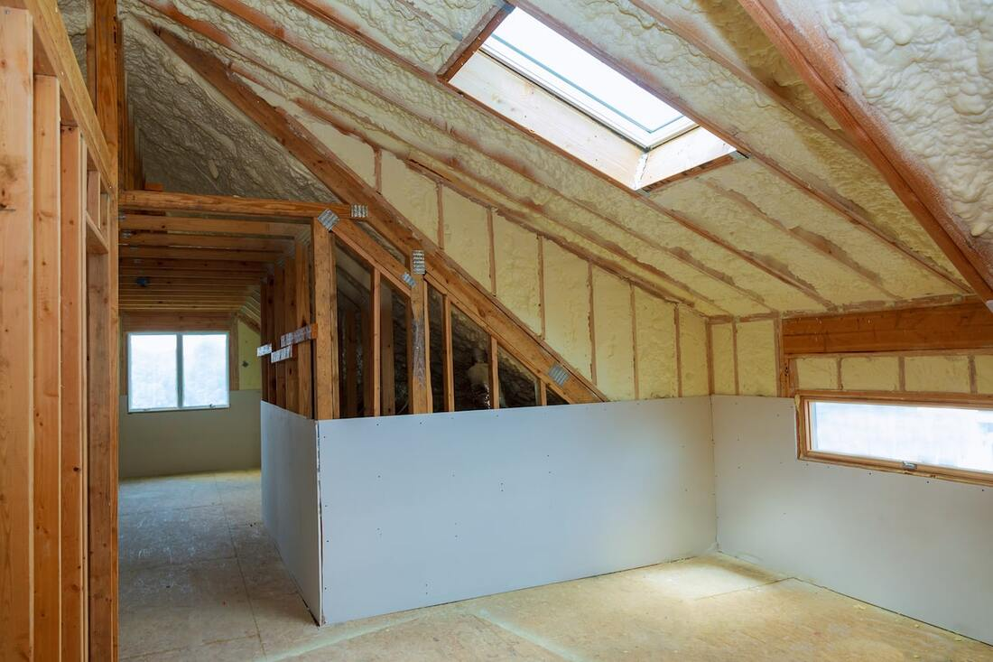 New Home Spray Foam Insulation Kenosha WI