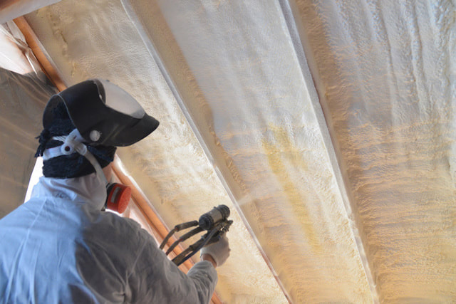 Spraying Foam Insulation Green Bay, Wisconsin